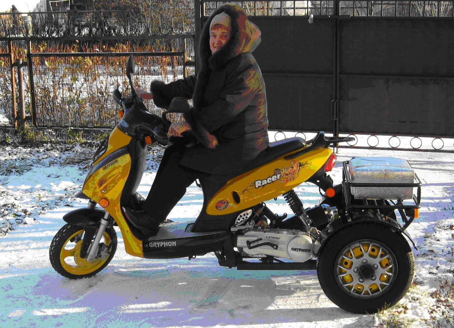 Трехколесный скутер сделать своими руками