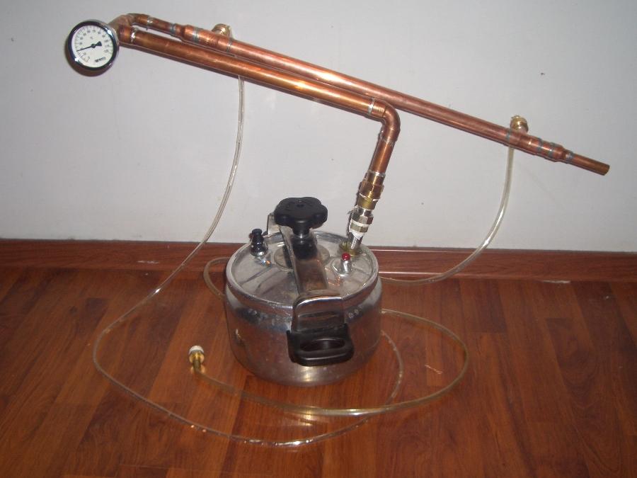 Скороварка-самогонный аппарат самодельный змеевик для самогонный аппарат своими руками