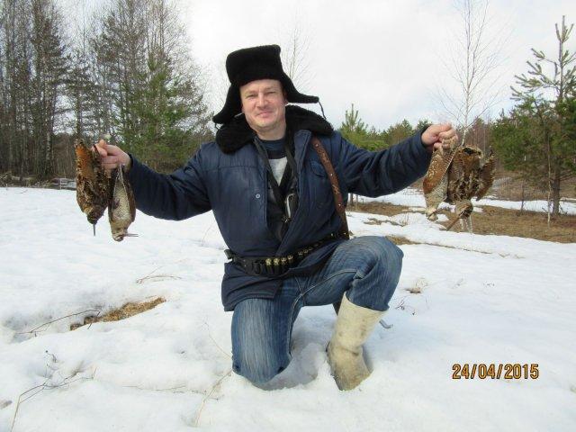 Вечёрка 22 апреля в Новгородской области удалась на славу   7 налётов   4 вальдшнепа