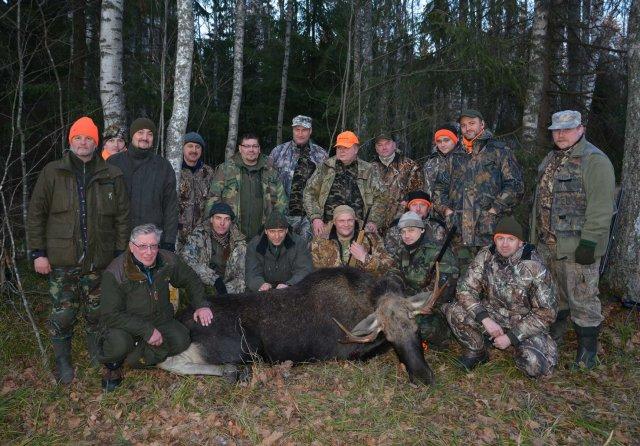 Форумная охота 22-23 ноября 2014