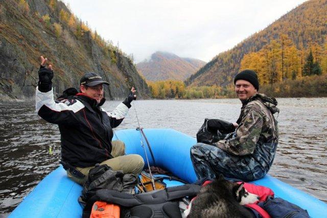 Сплав по реке Мая Хбр Край сент 2012