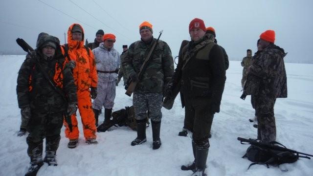 Охота в декабре 2016