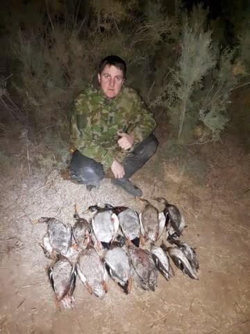 Охота в Калмыкии 2018