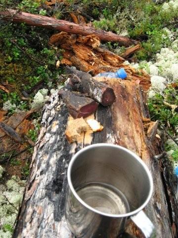 Кукура - вяленая сохатина сухарик  и спирт