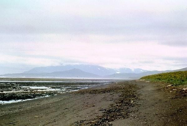 Отливная полоса Охотское море