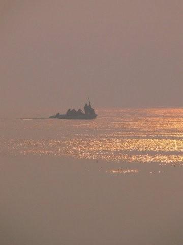 По река южной Якутии.