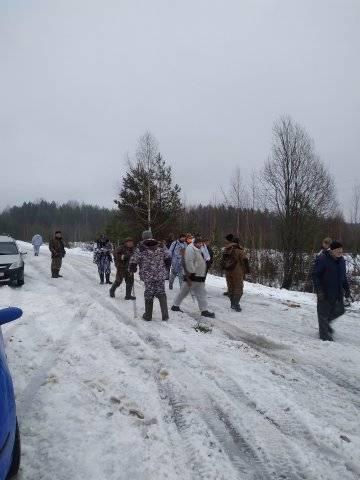 Охота на волка в Костромской области
