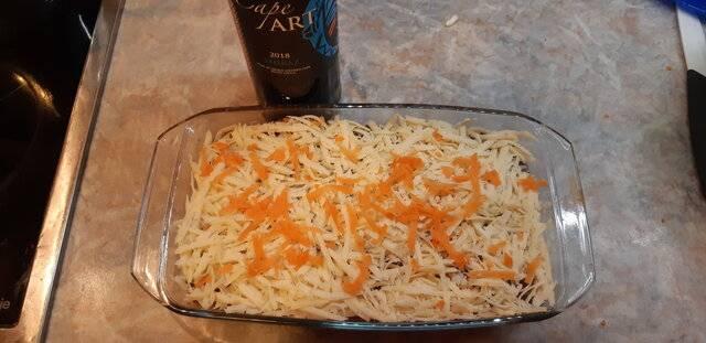 Пастуший пирог с фаршем из лосятины и гречкой с  овощами,тушеными в краснов вине (5).jpg